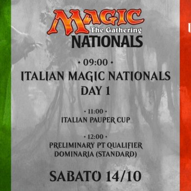 Magic the Gathering: Nazionali Italiani 2017 – Venerdì e Sabato (Day 1)