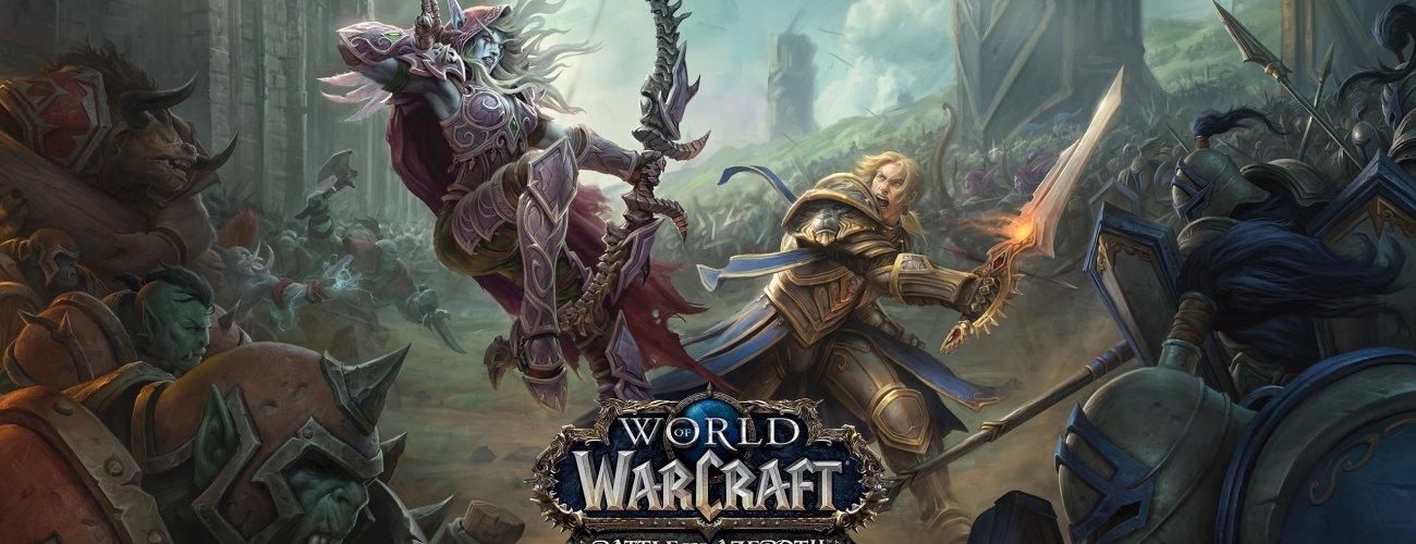 World of Warcraft: Battle for Azeroth presentata in un video esplosivo!