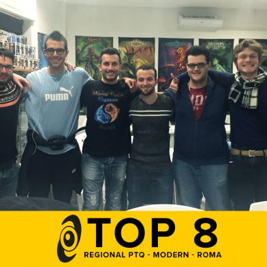 Top8 decklists: RPTQ Modern Rivals of Ixalan @ Galactus Tuscolana