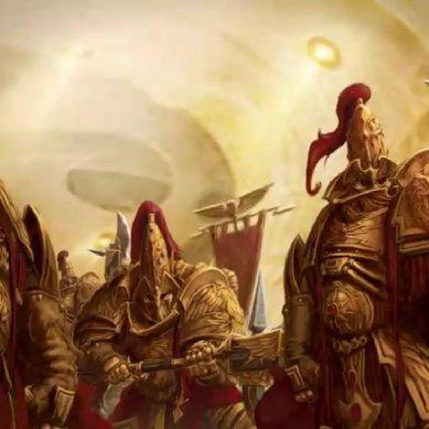 Adeptus Custodes: le origini dei Guardiani Dorati