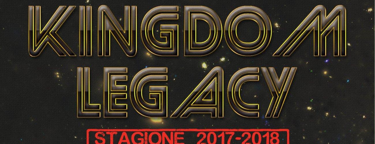 Sesta Tappa Kingdom Legacy: Infografica by Marco Lucchi