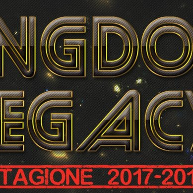 Sesta Tappa Kingdom Legacy: Infografica by Marco Lucchi