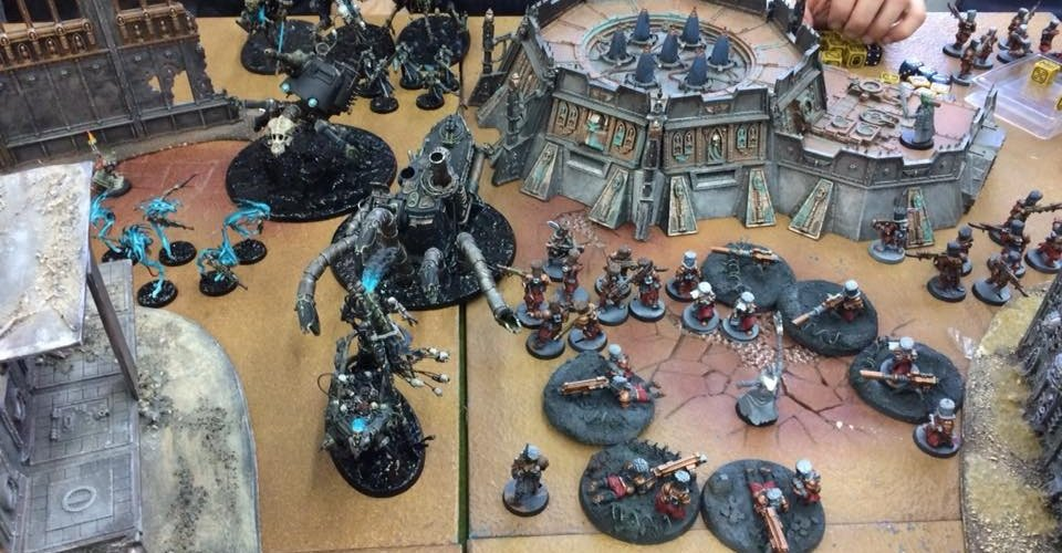 Rapporto Evento Battle Brothers Warhammer 40,000