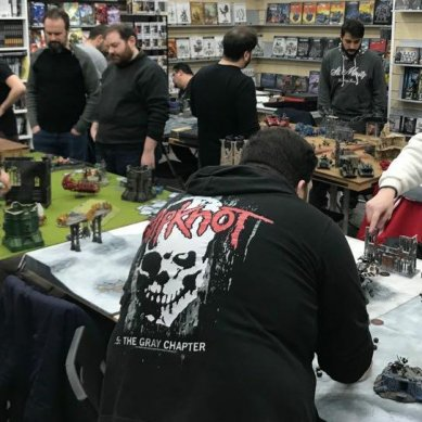 Report Torneo Warhammer 40,000 – 11 Febbraio