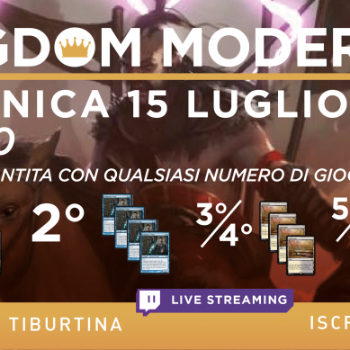 Torneo Magic: Kingdom Modern 12 @ Galactus Tiburtina