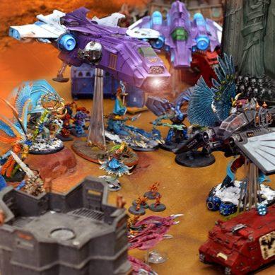 Trova e distruggi: Battle Report di Warhammer 40,000