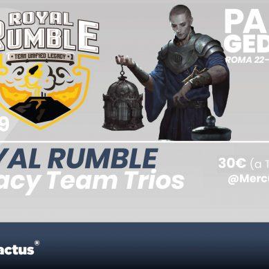 Paupergeddon X: Royal Rumble – Team Legacy
