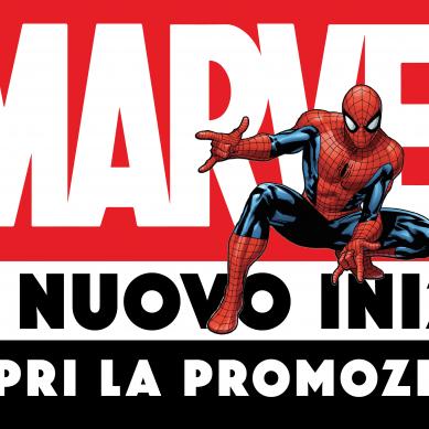 """Promozione Marvel """"Un nuovo inizio"""""""