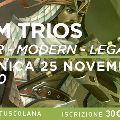 Torneo Magic: Team Trios Modern – Legacy – Pauper @ Galactus Tuscolana