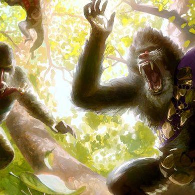Rug Aggro: scimmie all'attacco della Kingdom Modern!