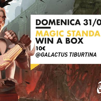 Torneo Magic: Standard Win A Box @ Galactus Tiburtina