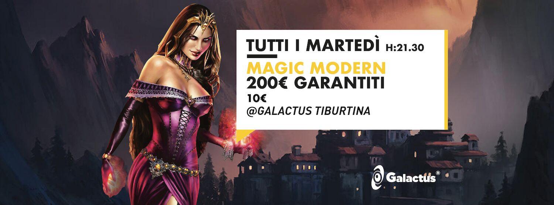 Torneo Magic: Modern 200€ Garantiti @ Galactus Tiburtina