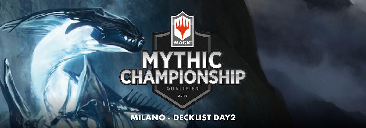 Decklist – Mythic Championship Qualifier – Top8 – Milano – Day 2