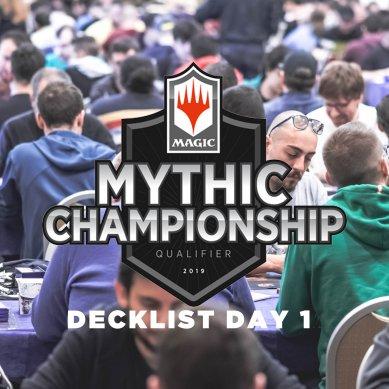 Decklist – Mythic Championship Qualifier – Top8 – Roma – Day 1