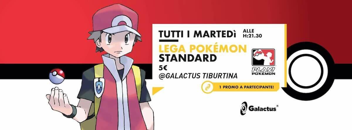 Torneo Pokemon: Lega Pokemon @ Galactus Tiburtina