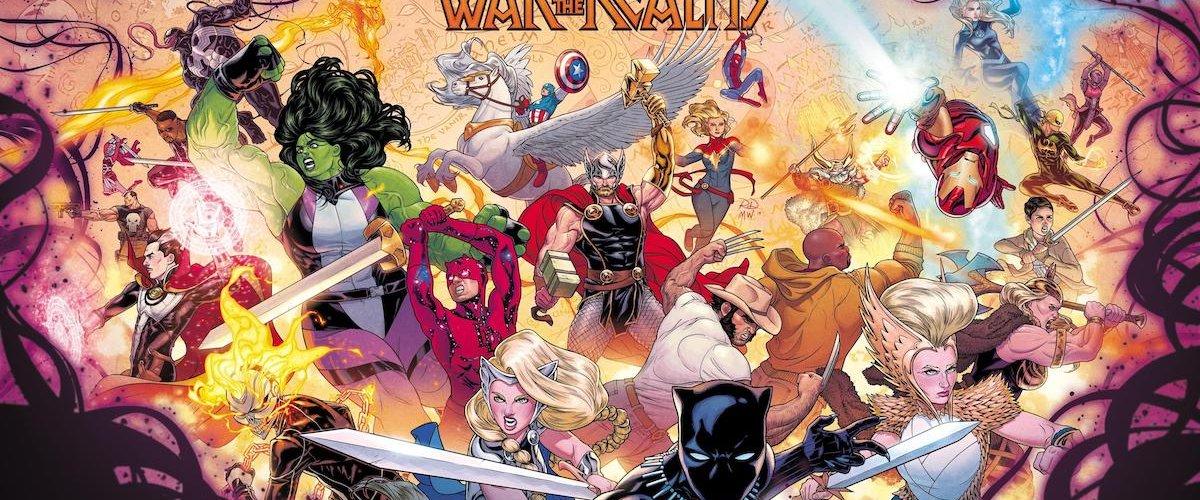 Universo Marvel: La Guerra dei Regni – Jason Aaron conquista i Nove Mondi