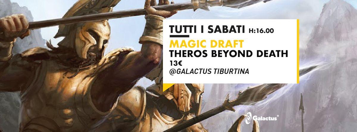 Torneo Magic: Draft Theros Beyond Death @ Galactus Tiburtina