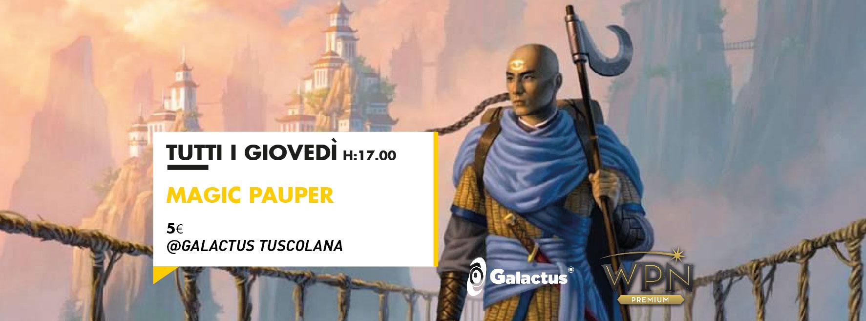 Evento Magic: Pauper @ Galactus Tuscolana
